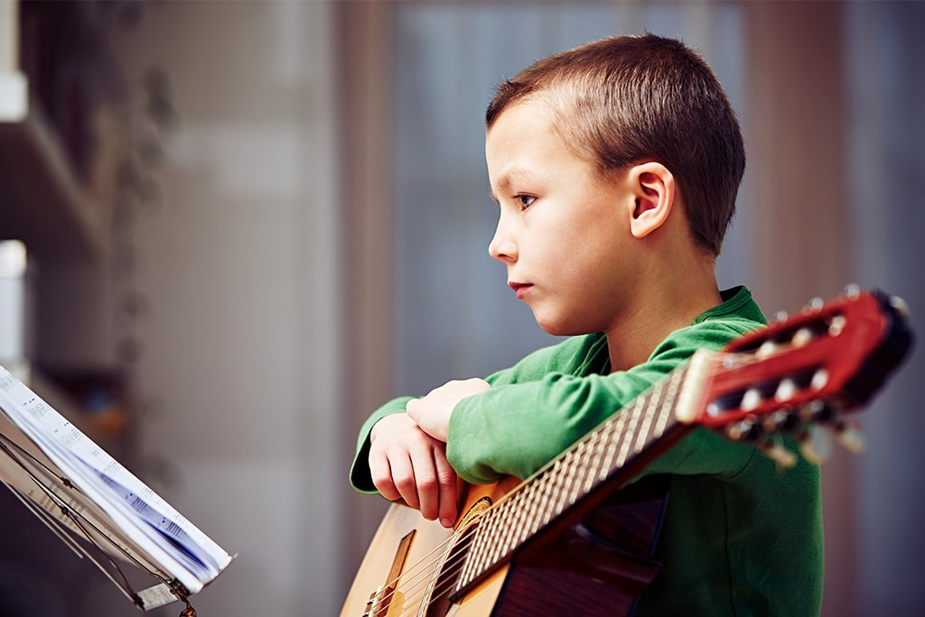 Classical Guitar Lessons for Kids